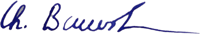 Unterschrift Bauerheim zosolutions AG